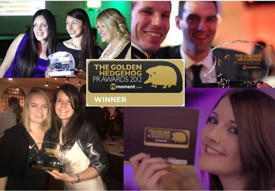 Mintel Win Golden Hedgehogs