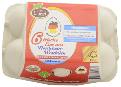 Netto Vom Land Fresh Barn Eggs