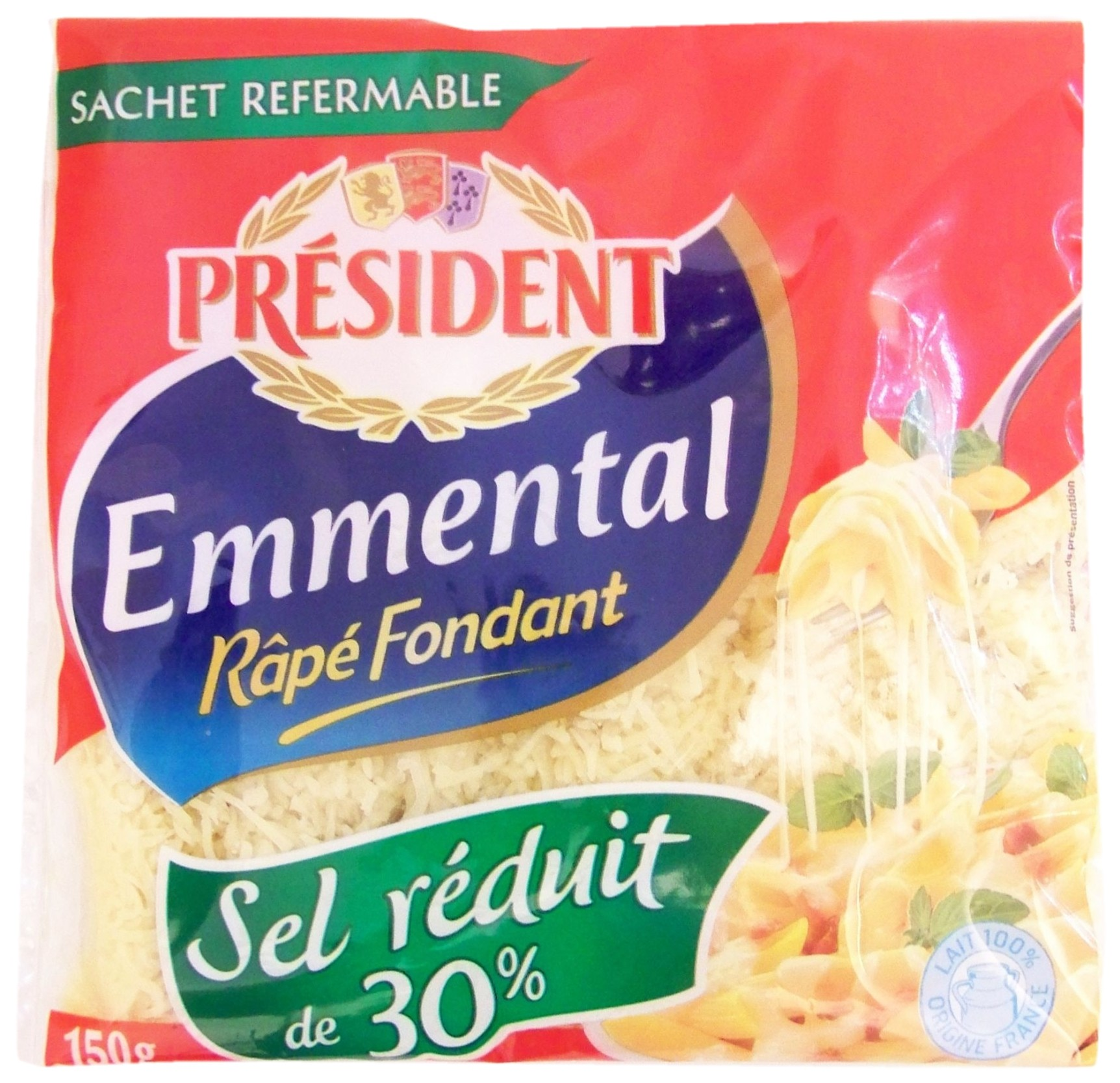Grated Emmental Cheese