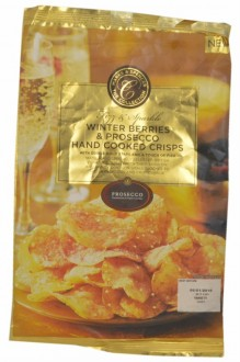 Marks & Spencer The Collection Fizz & Sparkle Winter Berries & Prosecco Hand Cooked Crisps