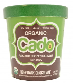 Cado Organic Deep Dark Chocolate Avocado Frozen Dessert, USA