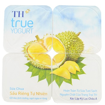 TH True Yogurt, Natural Durian Yogurt, Vietnam