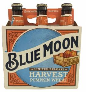 Harvest Pumpkin Wheat Beer, Blue Moon Brewing, USA