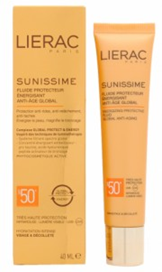 Lierac Sunissime Energizing Protective Fluid Global Anti-Aging SPF 50+