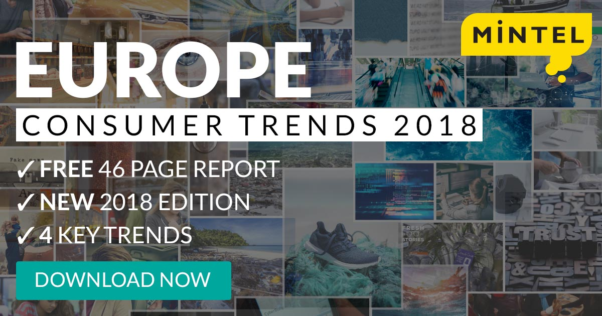 Europe Consumer Trends 2018 - Download your free copy now!