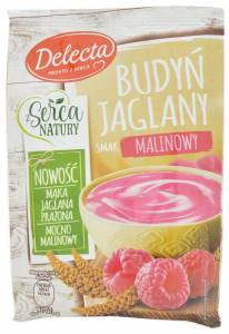 Delecta z Serca Natury Raspberry Flavoured Millet Pudding
