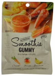 Lotte Bite-Sized Smoothie Gummies, Lotte, Japan