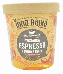 Inna Bajka Espresso and White Mulberry Oatmeal